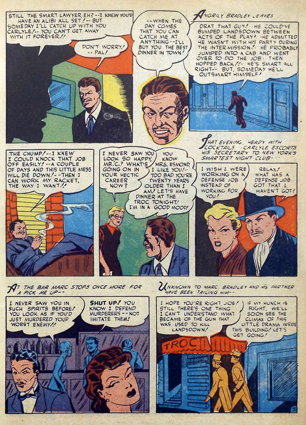 Suspense Comics #3 from 1944 21
