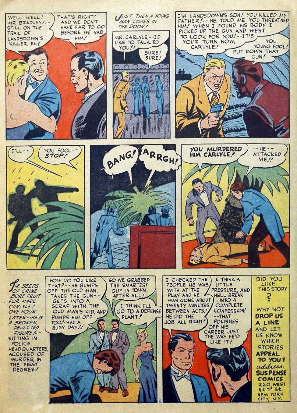 Suspense Comics #3 from 1944 22