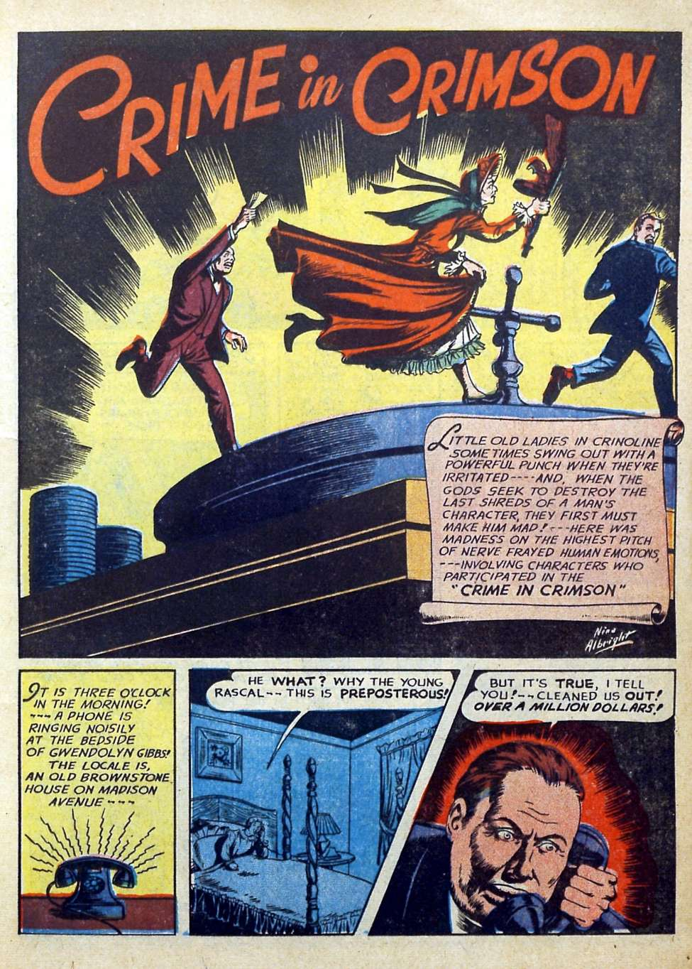 Suspense Comics #3 from 1944 23