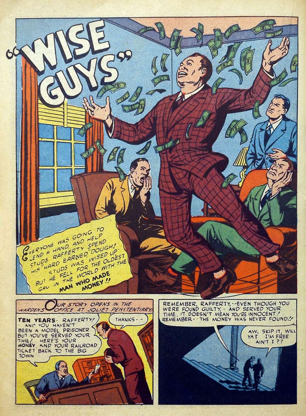 Suspense Comics #3 from 1944 1 Nazi comic