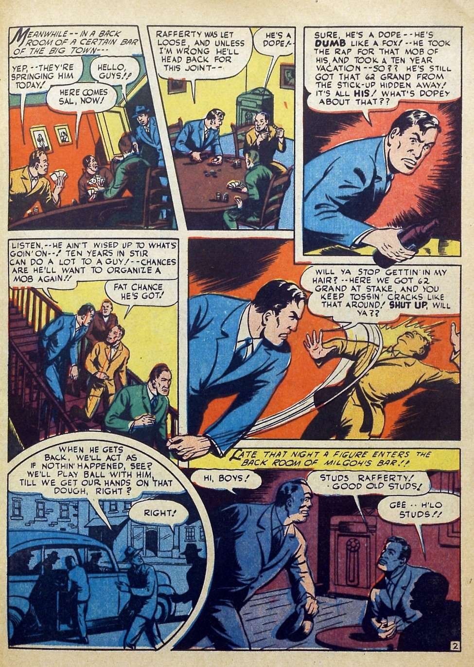 Suspense Comics #3 from 1944 39