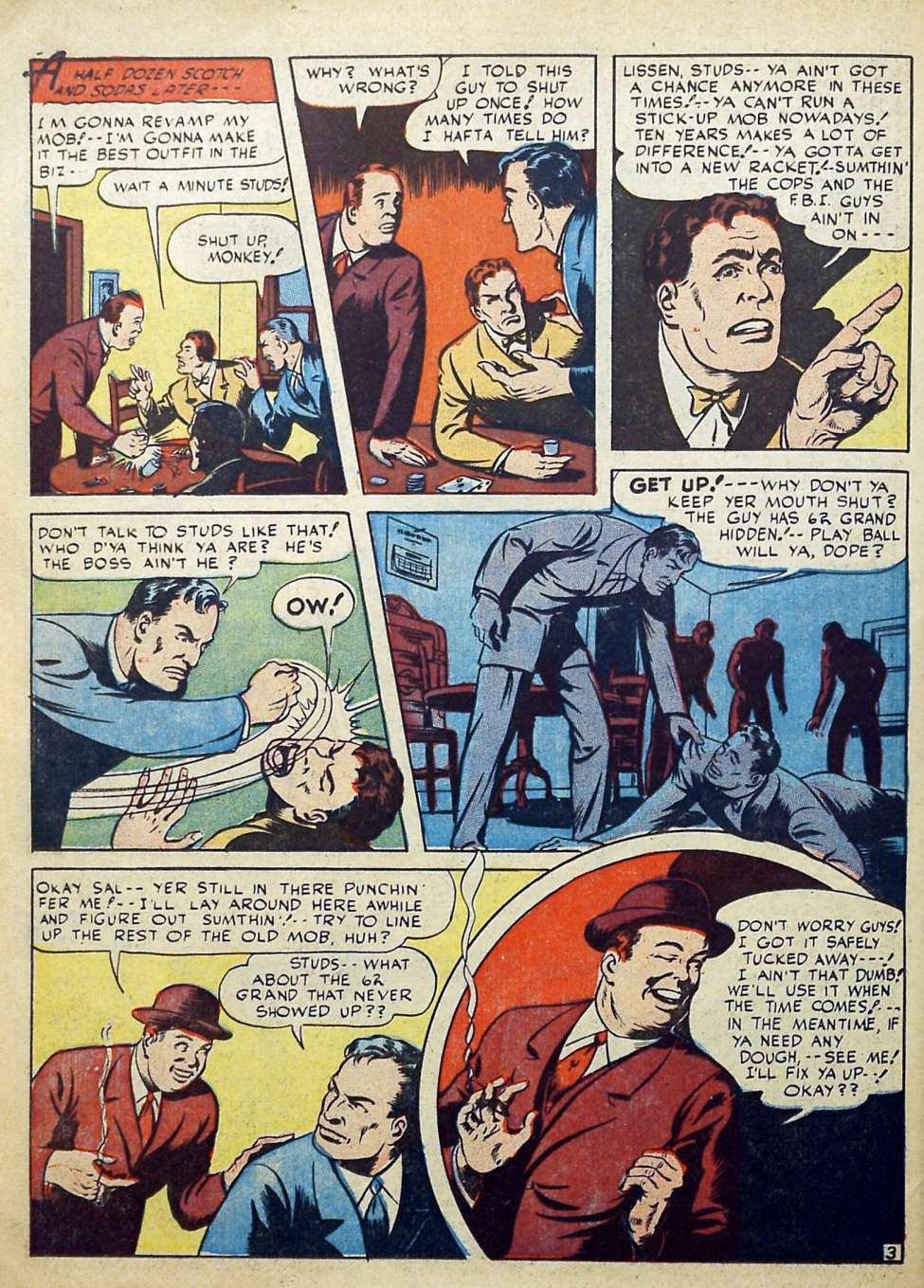 Suspense Comics #3 from 1944 40