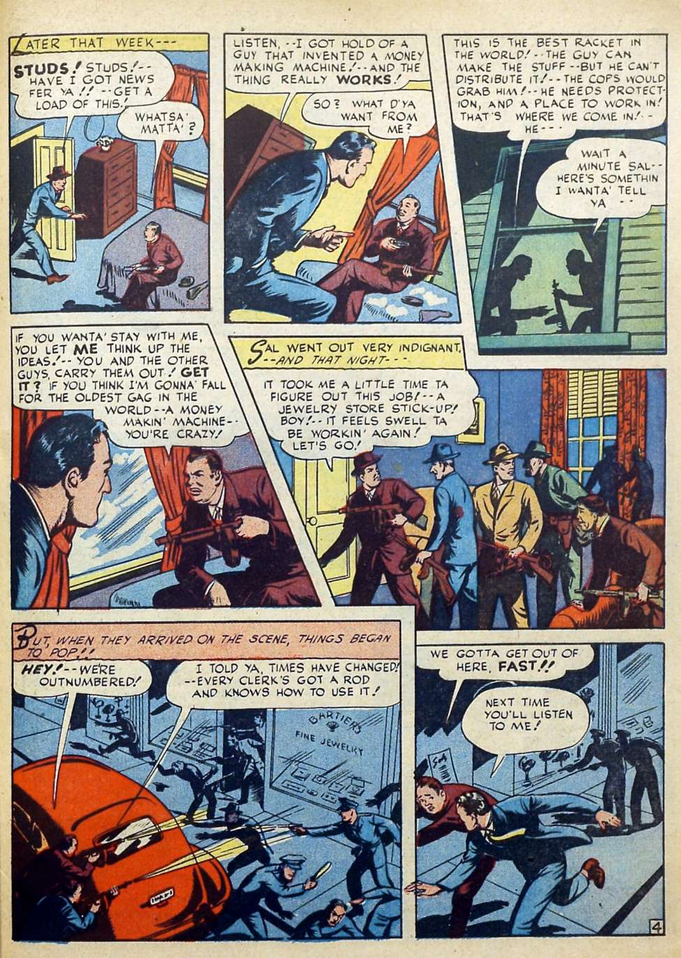 Suspense Comics #3 from 1944 41