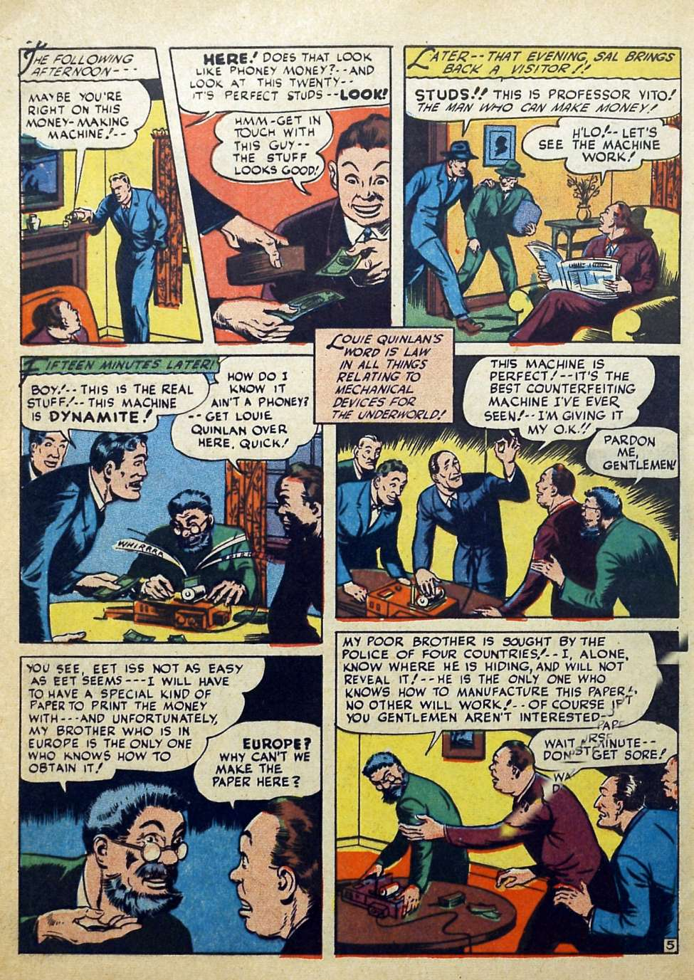 Suspense Comics #3 from 1944 42