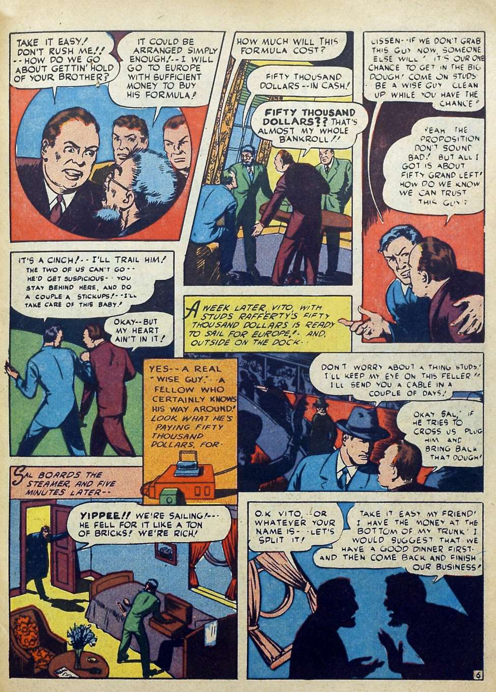 Suspense Comics #3 from 1944 43