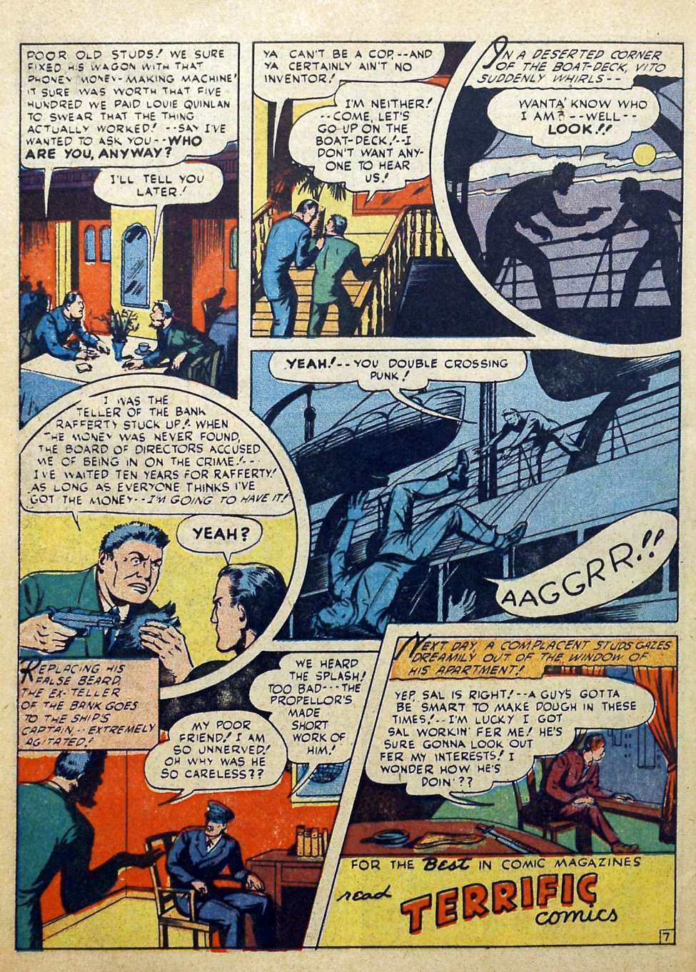 Suspense Comics #3 from 1944 44