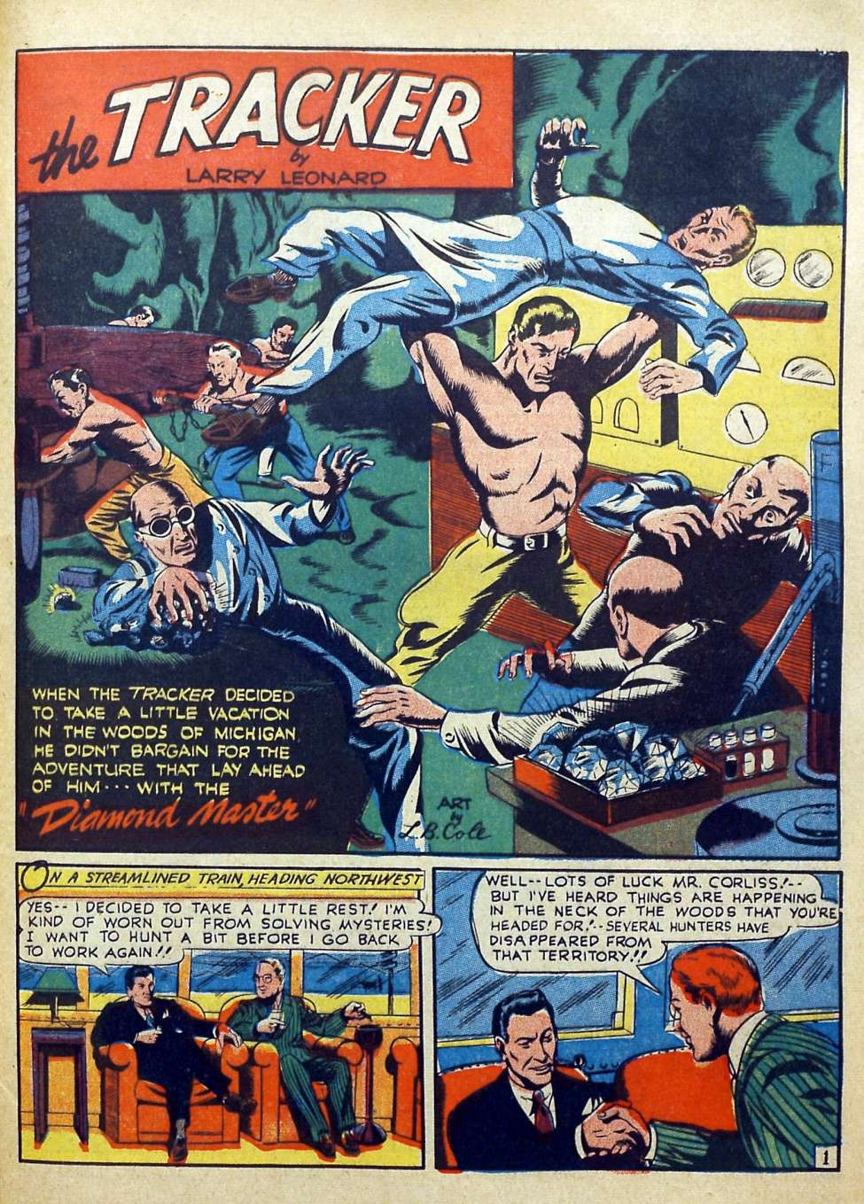 Suspense Comics #3 from 1944 45