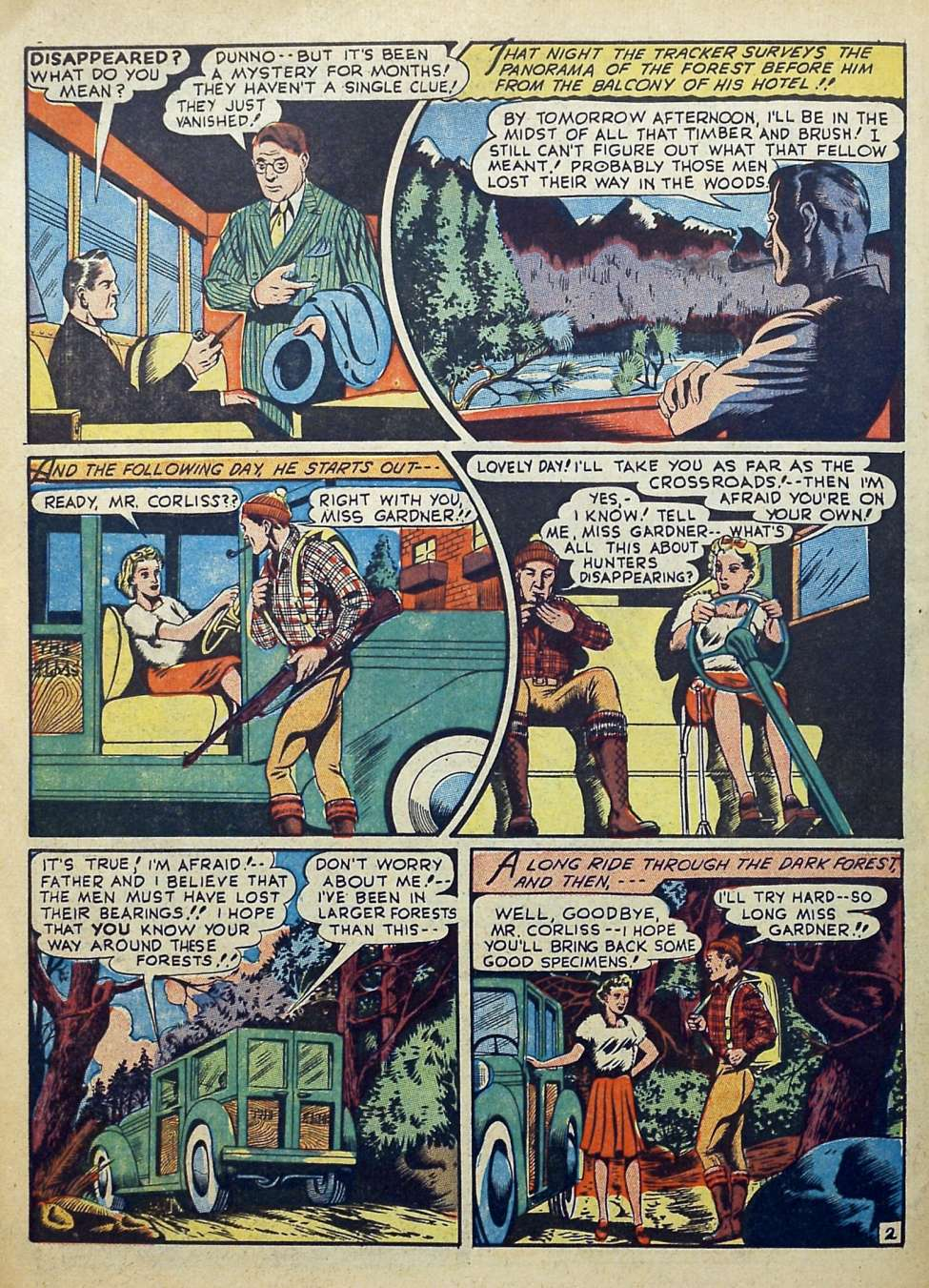 Suspense Comics #3 from 1944 46