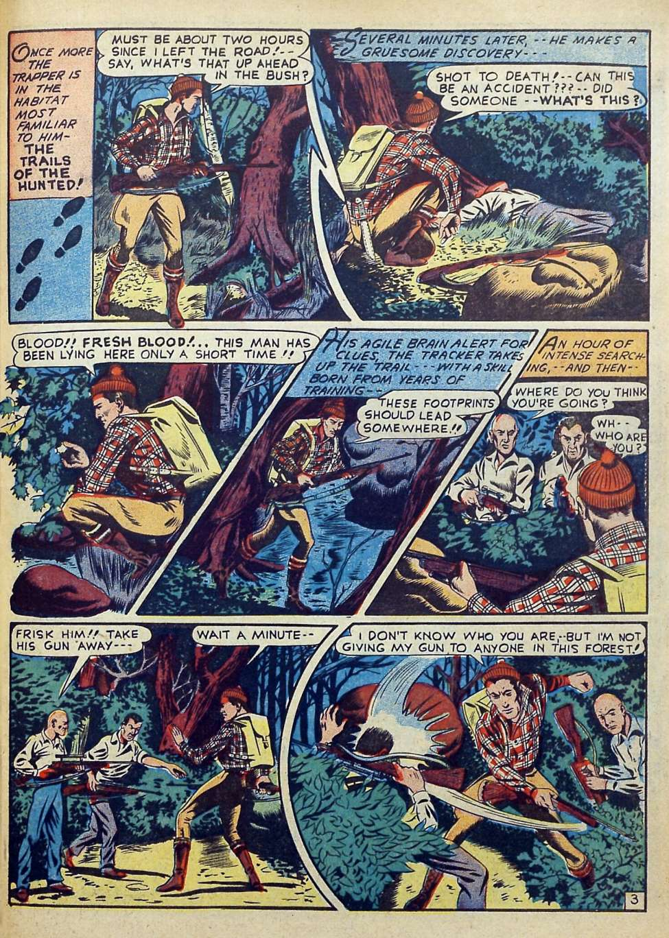 Suspense Comics #3 from 1944 47