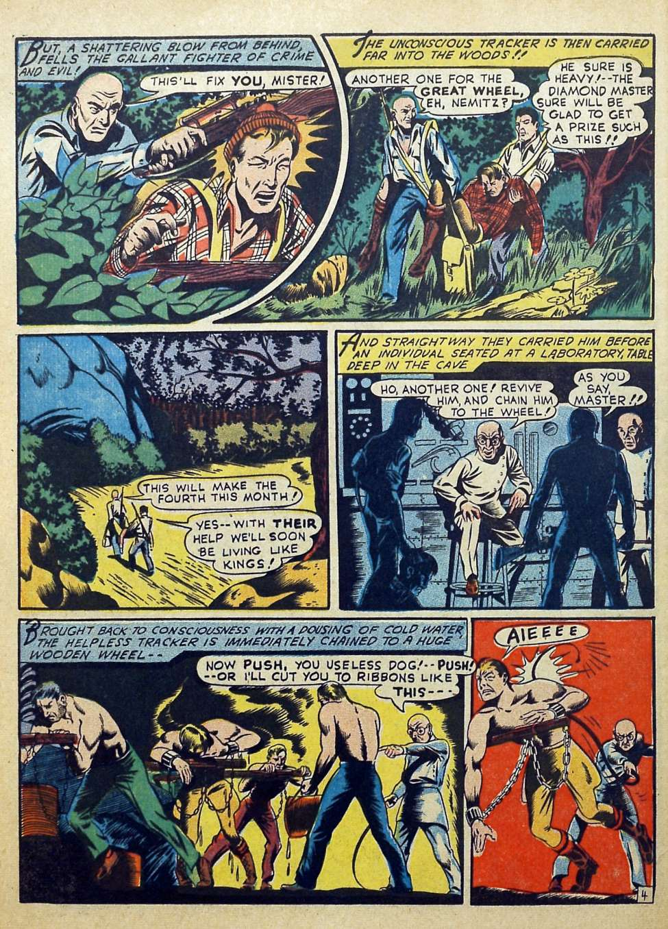 Suspense Comics #3 from 1944 48