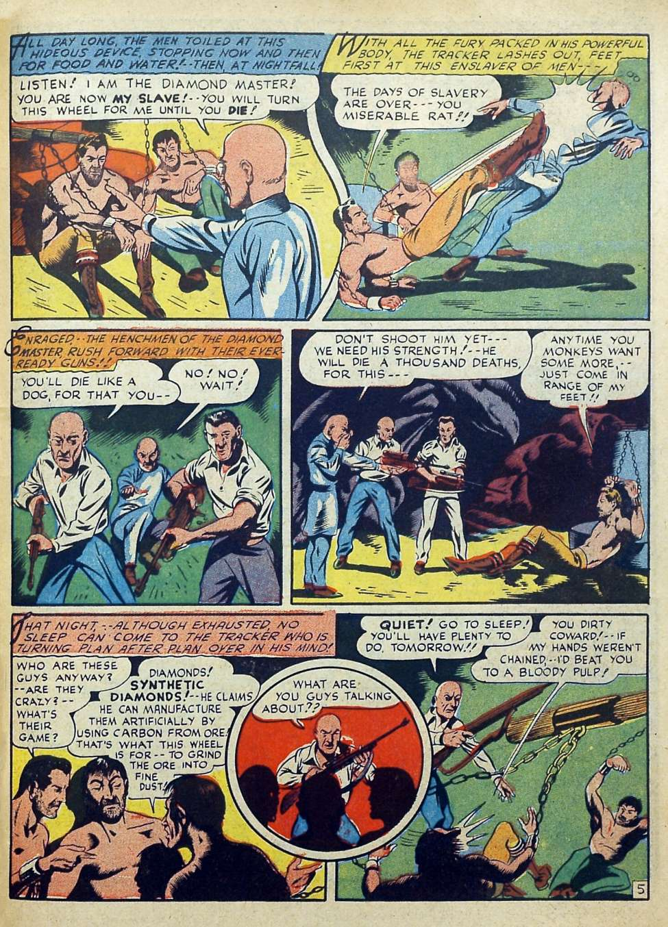 Suspense Comics #3 from 1944 49