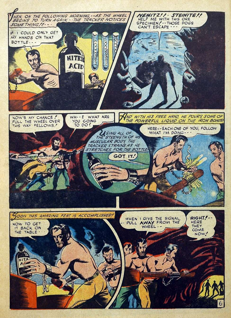Suspense Comics #3 from 1944 50