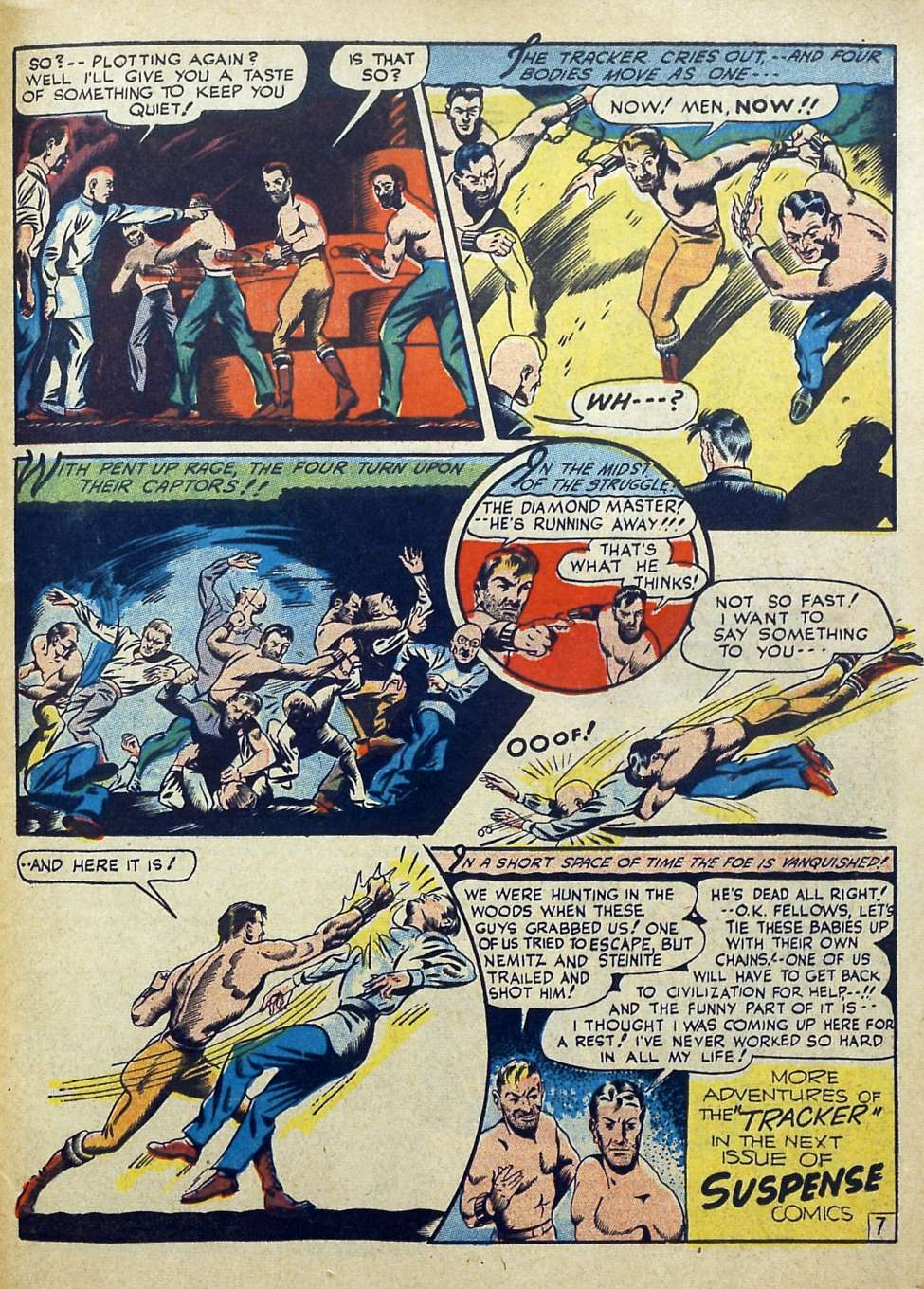 Suspense Comics #3 from 1944 51