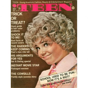 A Look in 'TEEN Magazine – March 1969