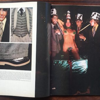 Sheila Rock Captures The Essence Of 1970s Menswear For Club International