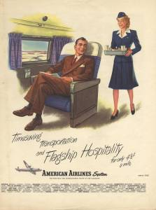 Timesaving Transportation and Flagship Hospitality, American Airlines March 1945