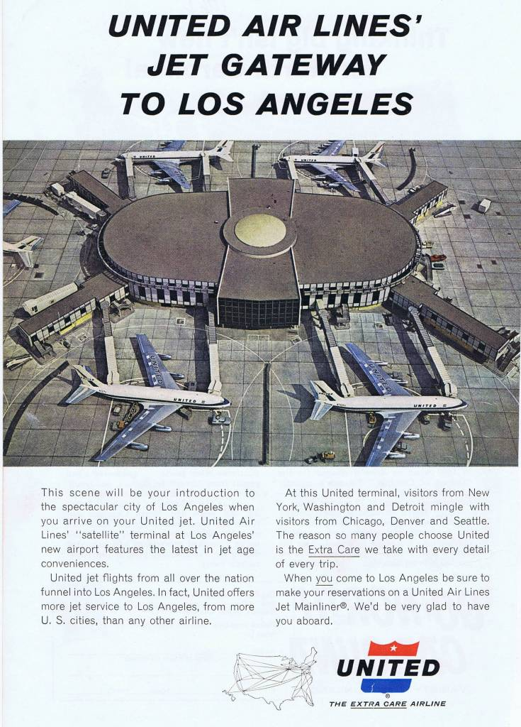 United Airl Lines 1962