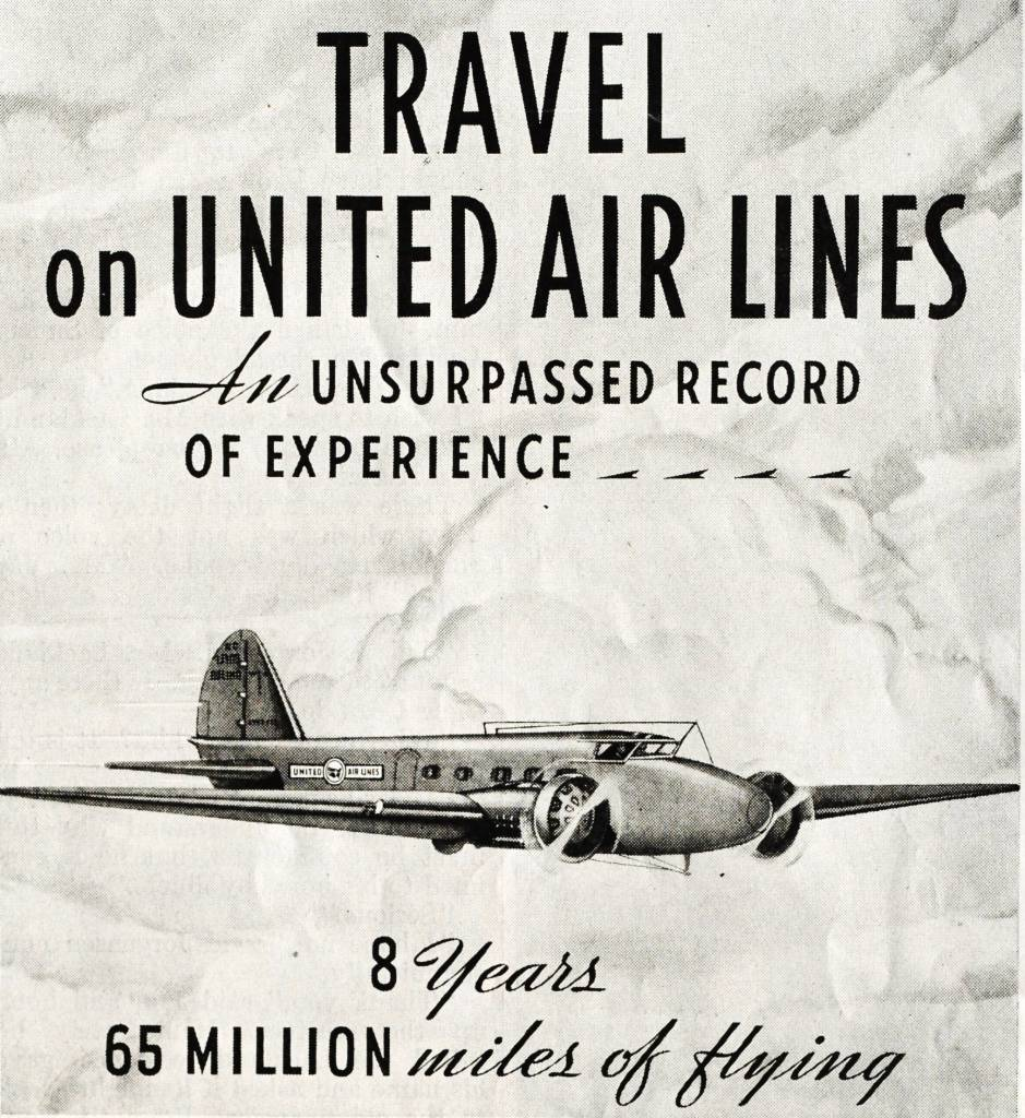 United Airlines 1934