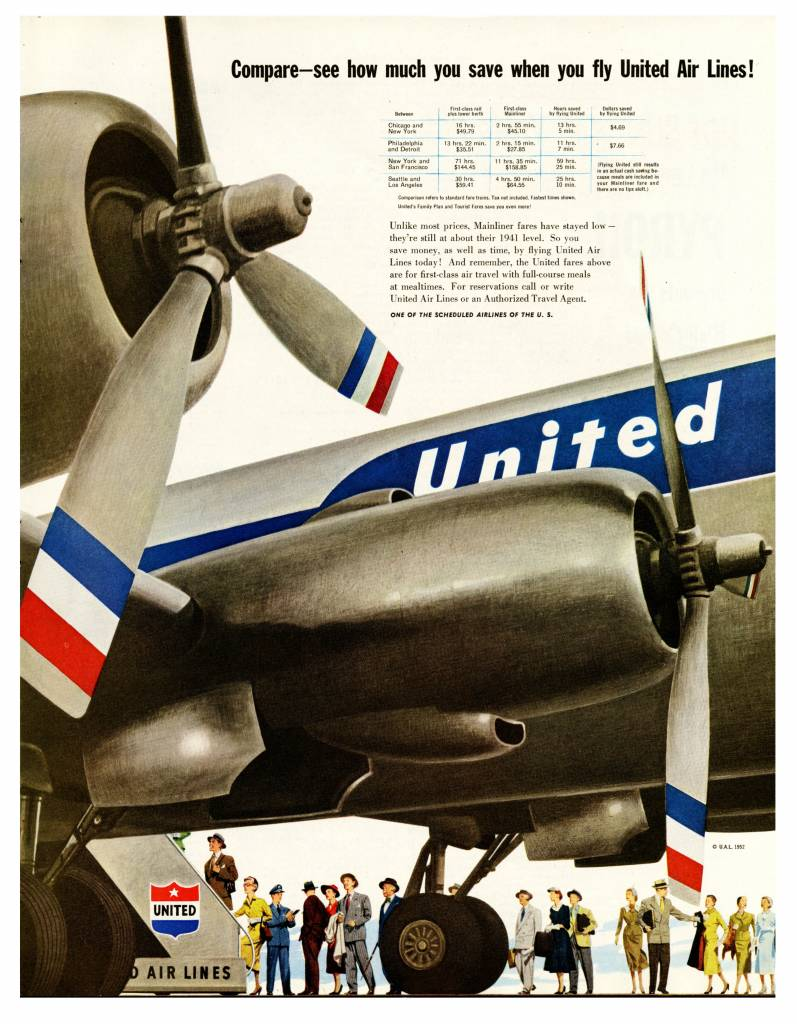 United Airlines 1952 copy