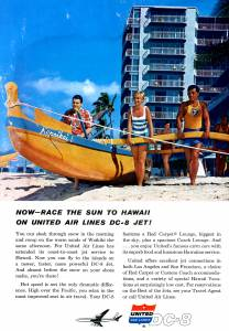 United Airlines March 1960