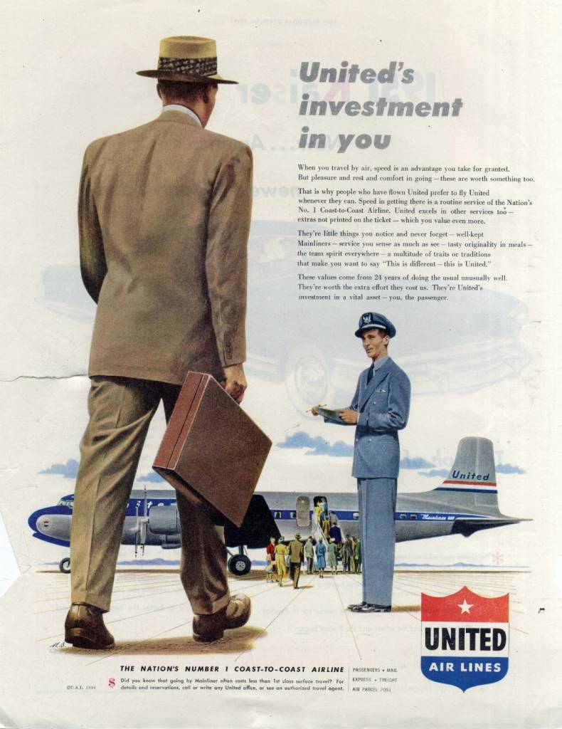United airlines ad 2