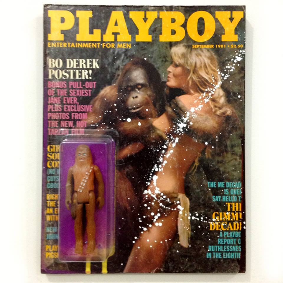 Playboy magazine action figure