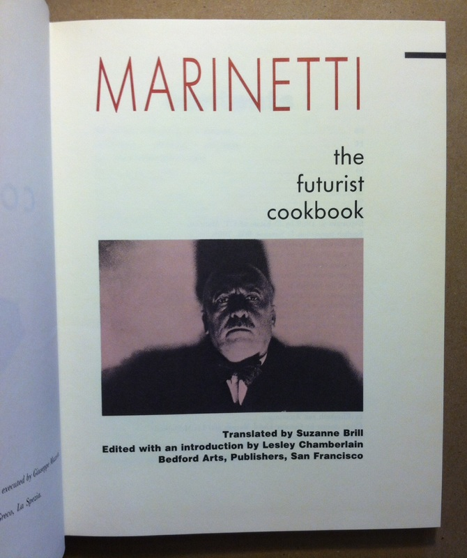 Marinetti book futurism