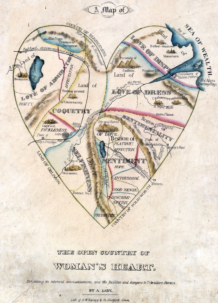 Map of the Open Country of a Woman's Heart