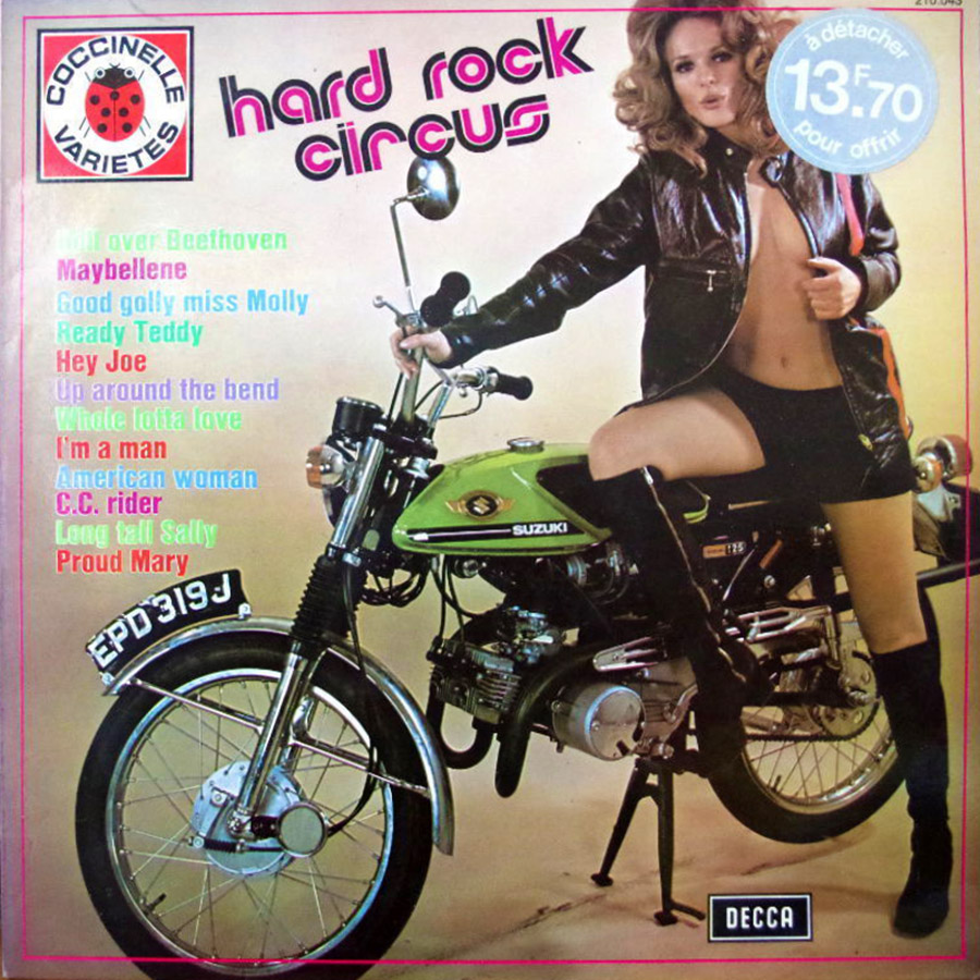 Motorcycle Vinyl 25 Bikes On Vintage Records