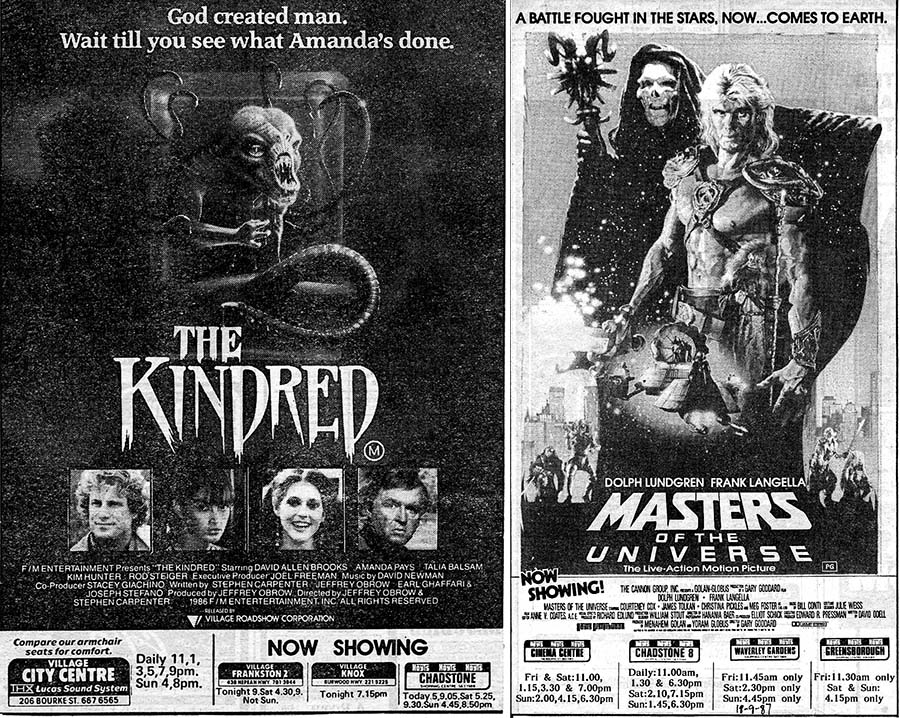the kindred july 1987