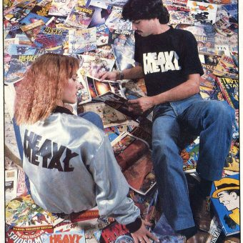 Amazing Magazine T-Shirts from the 1970s-80s