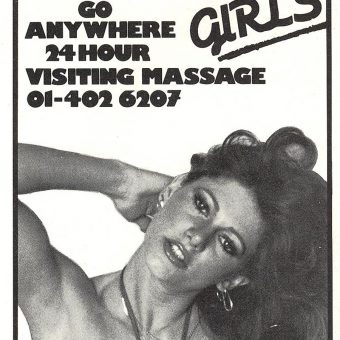 The Visiting Massage: A Thriving Business in 1980s Heathrow