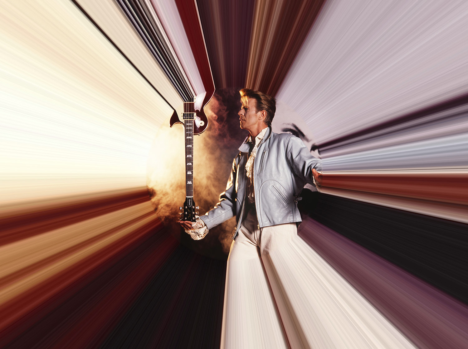 David Bowie In His Time Tunnel, 1989