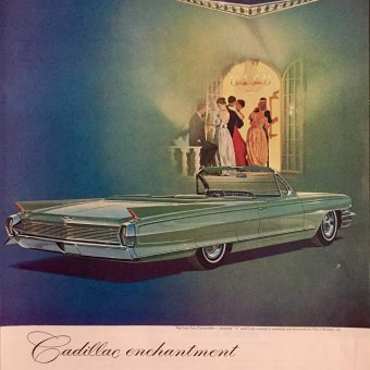 It Commands Respect Wherever it Travels! – Cadillac Ads 1960-62