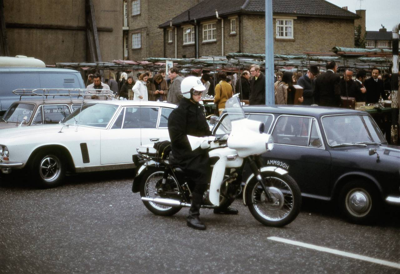 Bermondsey Market, London SE1 1972