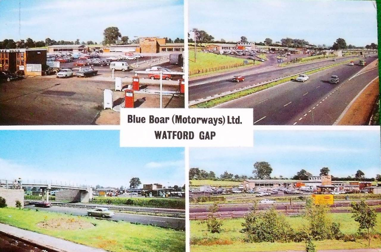 Blue Boar Watford Gap Services, M1 Motorway