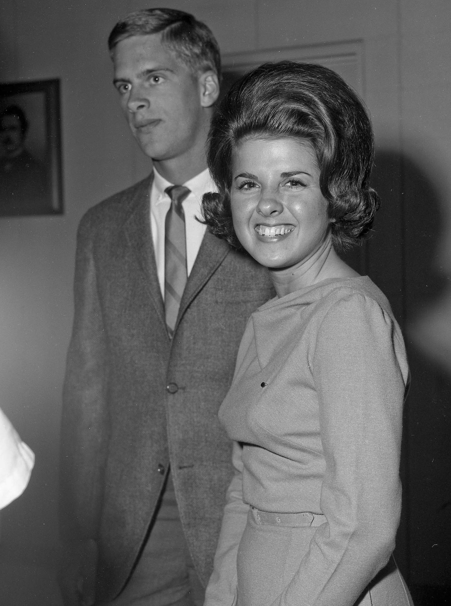 Spring-1964--Student Dinner Party--Mary Ann and John--Fresno State College