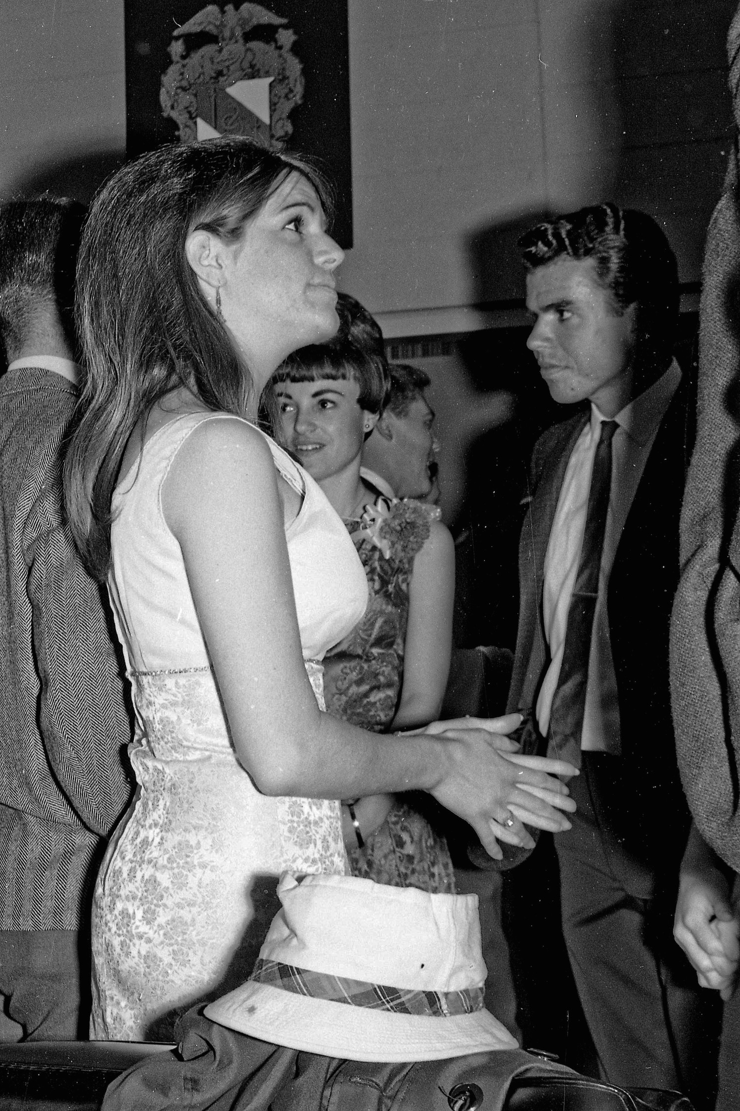 Spring 1965--At a social mixer--Fresno State College