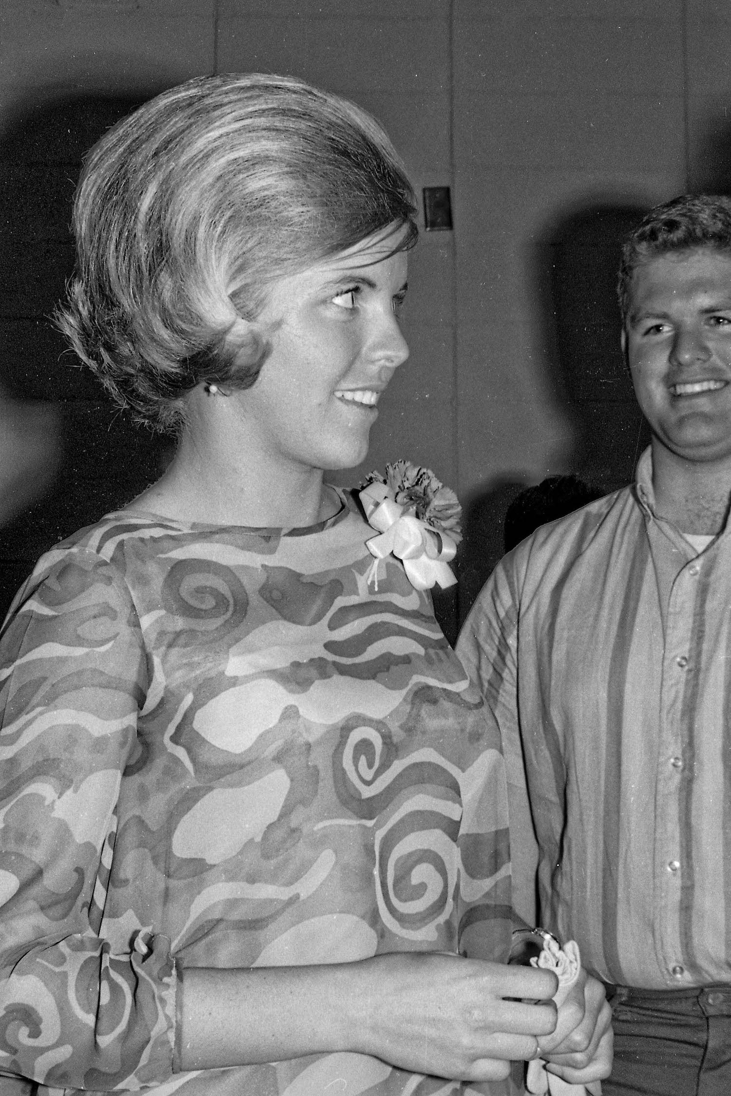Spring 1965--At a social mixer, Fresno State College