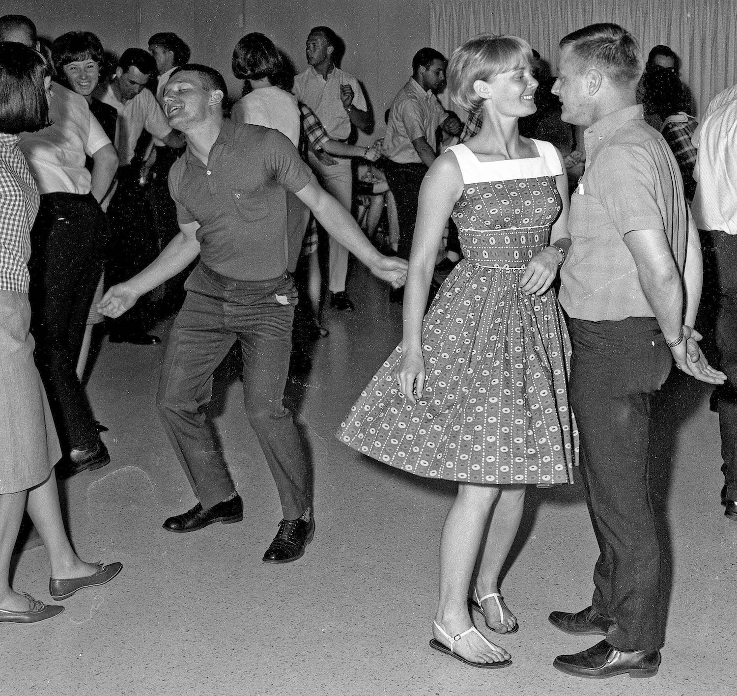 Spring 1965--At a dance party--Fresno State College