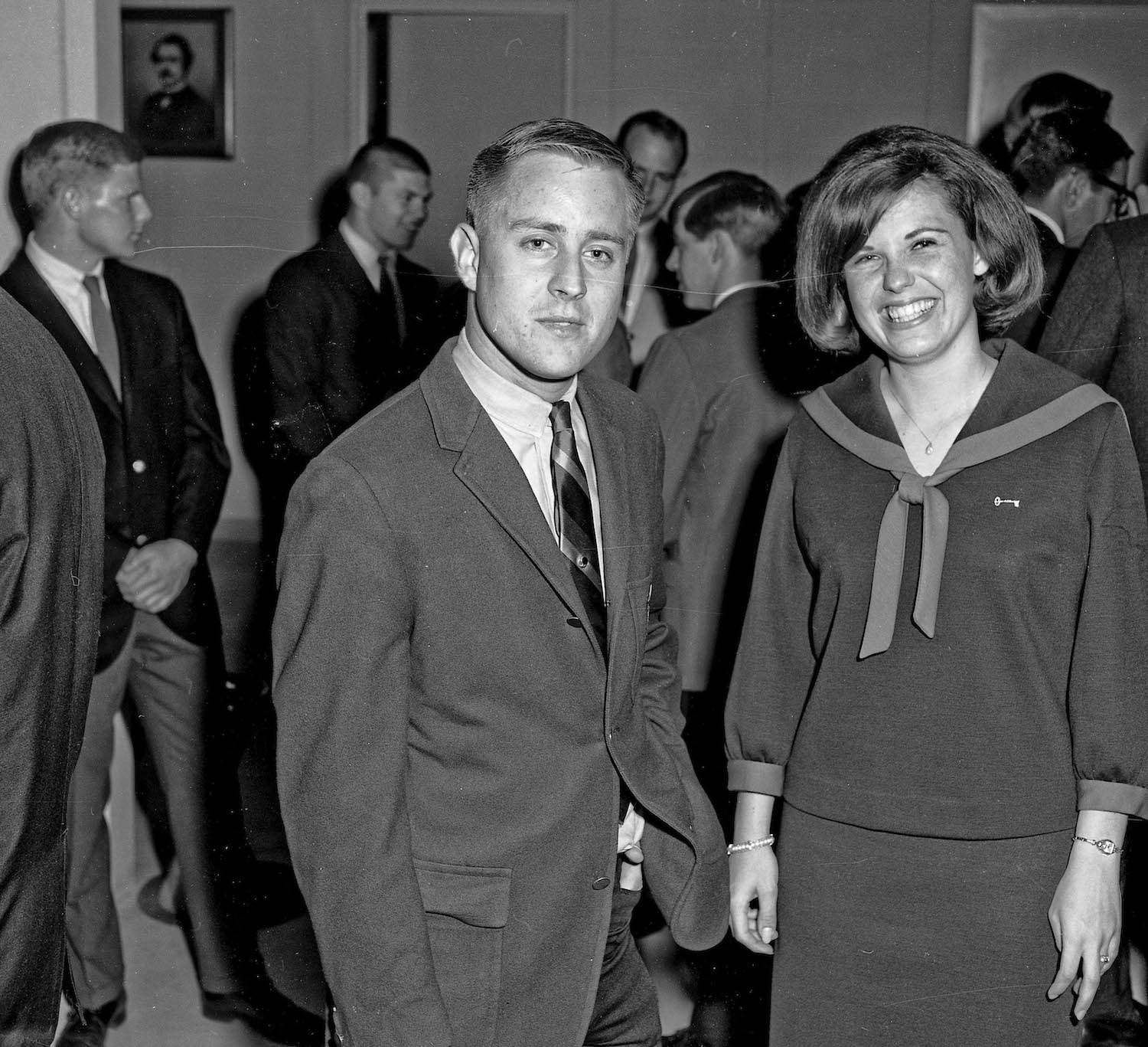Spring 1965, Student Social, Jim and Judy, Fresno State College