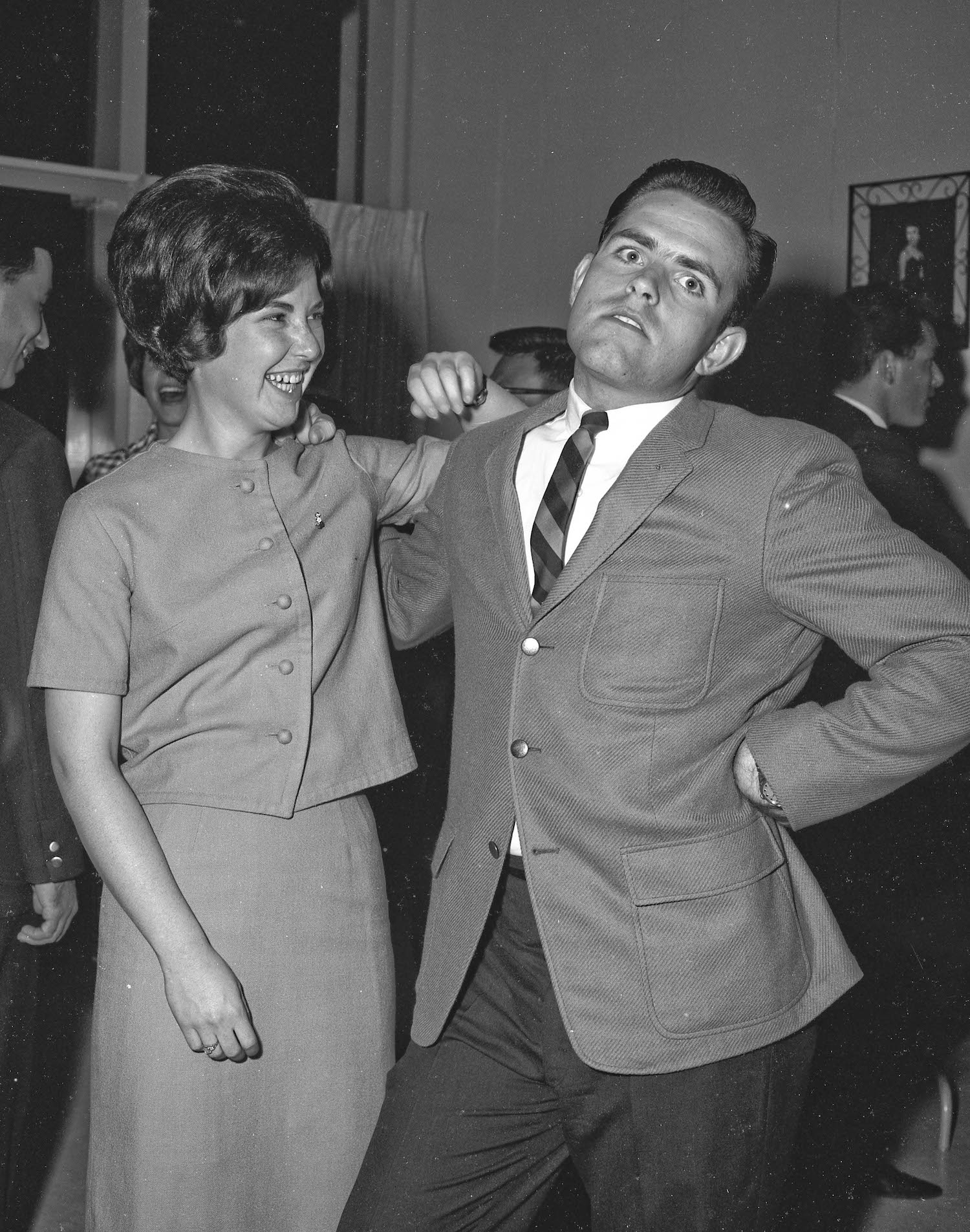 Mar 30, 1964, Mary, Spring mixer, Fresno State College