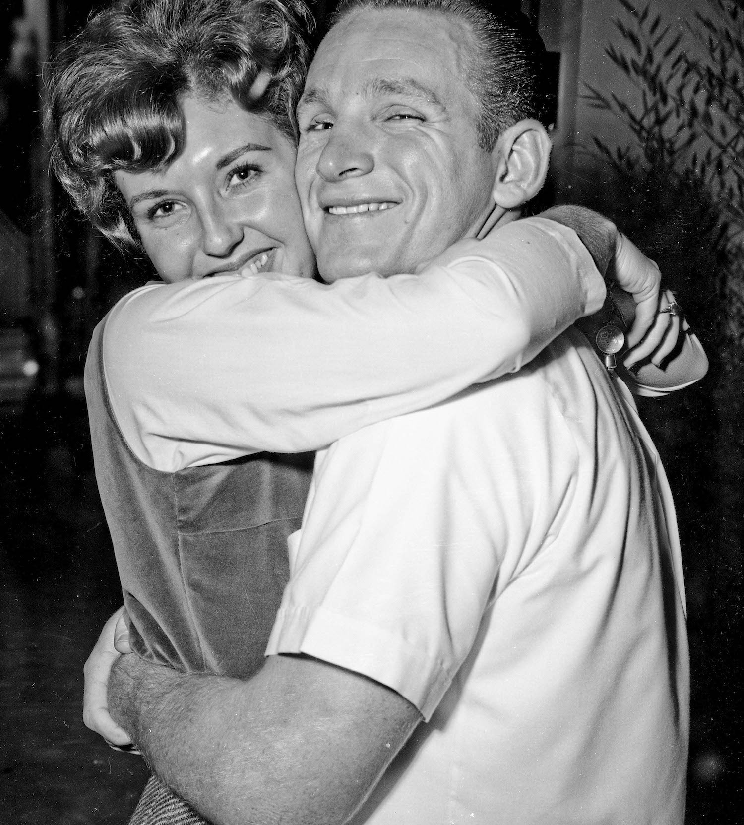 Nov 16th, 1963-- Post Game Party, Jack and date--Fresno State College