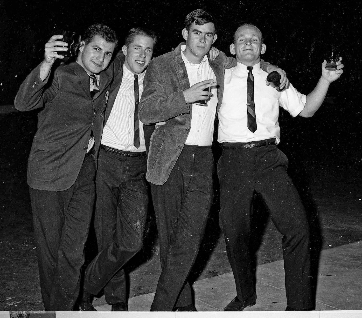 Nov 16th, 1963--Post Game Party--Fresno State College