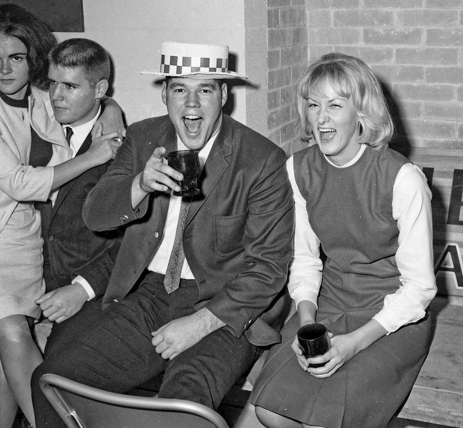 Nov 16th, 1963--Post Game Party, Ernie and Dorothy--Fresno State College
