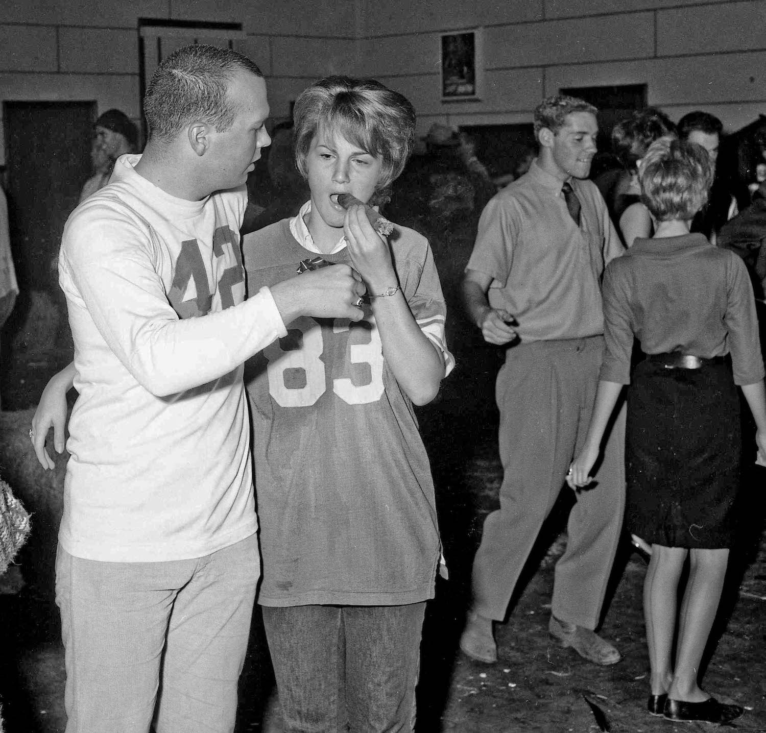 Paul & Bunny--Dec 13th, 1963--Fresno State College