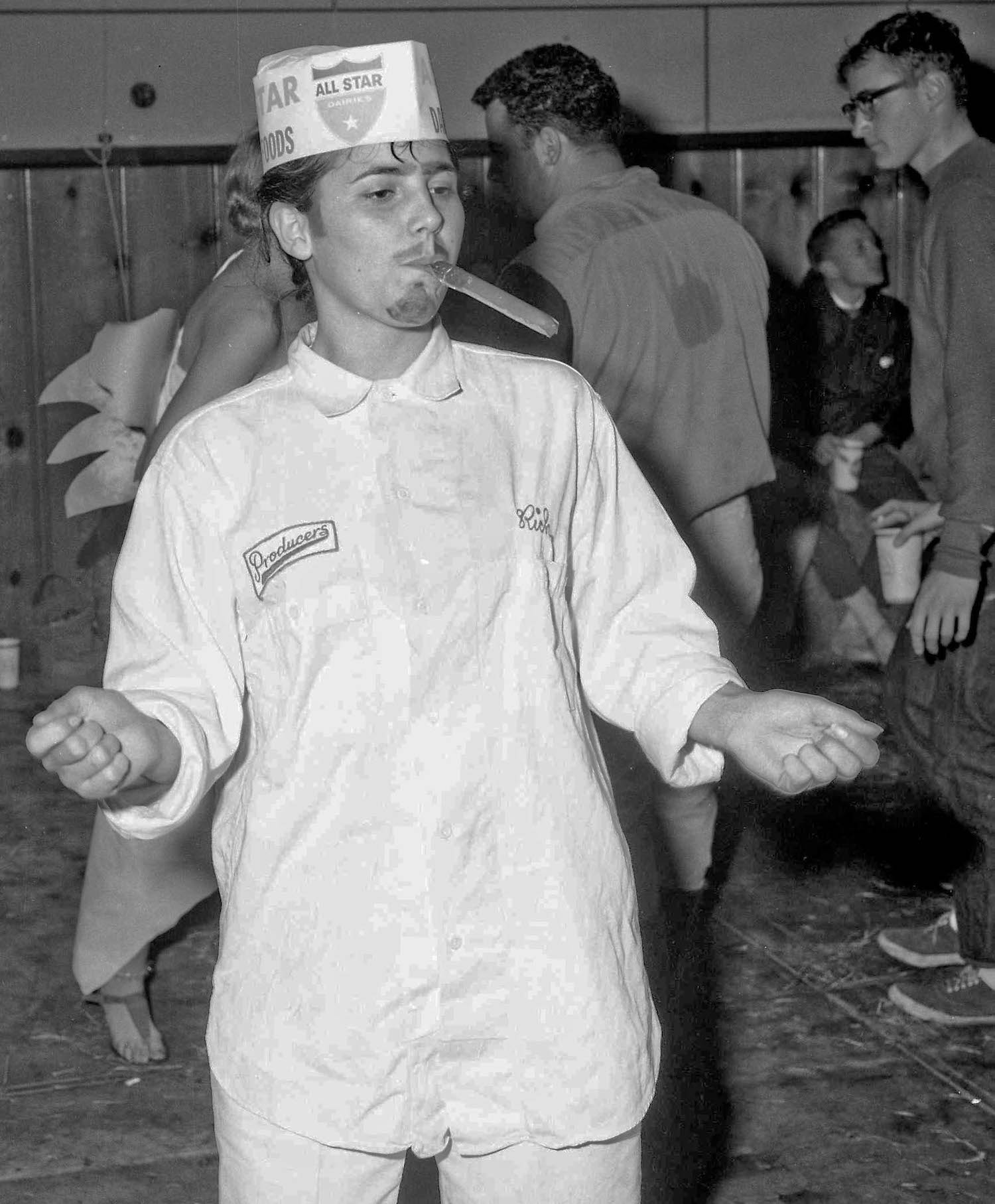 Fresno State College, Dec 13, 1963, costume party, Lovely Rita