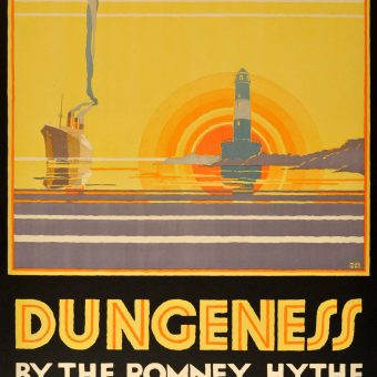 'Unsurpassed for Scenic Grandeur' – Glorious British railway Posters from Between the Wars