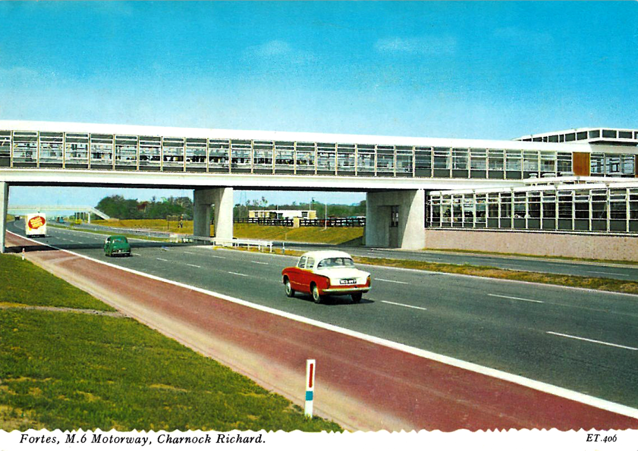 Fortes, M.6 Motorway, Charnock Richard