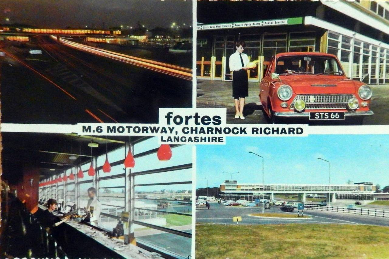 Fortes Services Charnock Richard, M6 Motorway